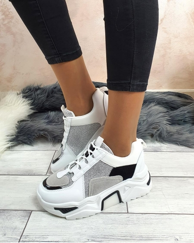 Sneakers Iron White