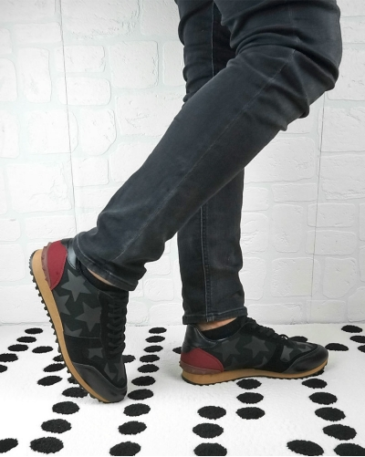 Sneakers Uomo Brax Black