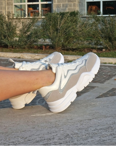 Sneakers Cred White