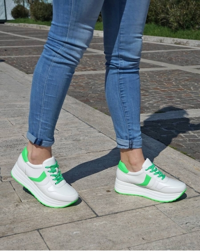 Sneakers Miley Green