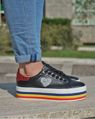 Sneakers Cuore Black