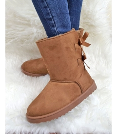 Boots Nastry Camel