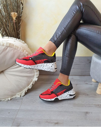 Sneakers Brilla Red