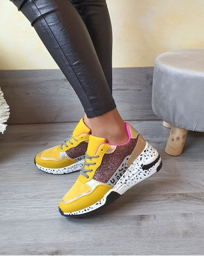 Sneakers Brilla Yellow